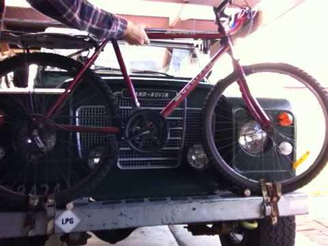 hitch product install blog landrover bike for rover land rack nv range img video kuat