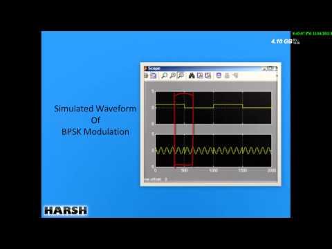Binary Phase Shift Keying - Harsh Pandit