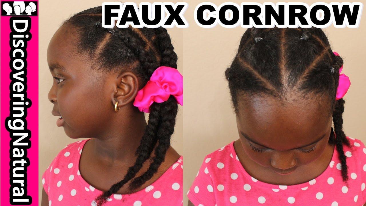 How To Fake Cornrows Natural Hair Naturalhair