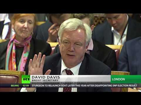 David Davis laughs off BoJo's suggestion of 'go whistle'