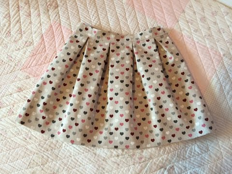 Falda de tablas. Pleated skirt