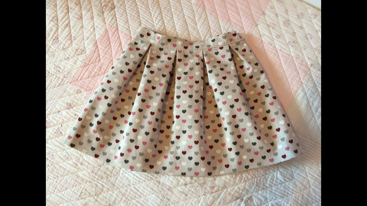 b5c8c2272 Falda de tablas. Pleated skirt
