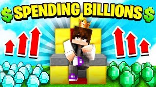 SPENDING OVER 5 BILLION DOLLARS ON ISLAND UPGRADES! (Minecraft Skyblock)