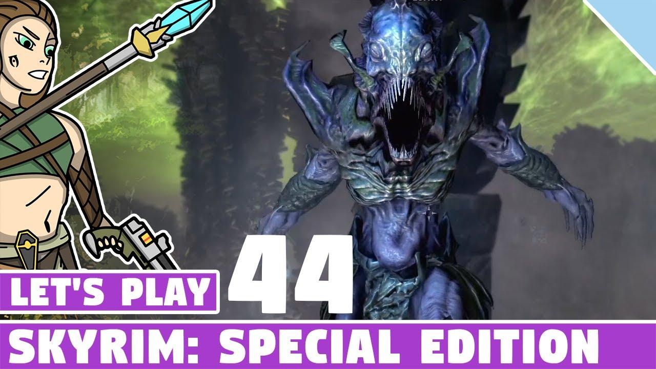 Lost Knowledge Quest! #044 Let's Play Skyrim Special Edition! Vanilla  Skyrim SE