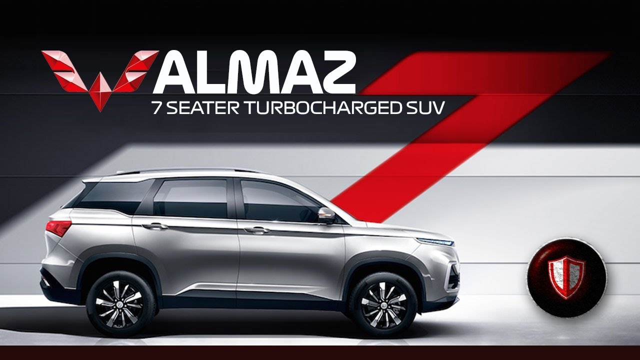 7 Seater! Wuling ALMAZ SUV Turbo 7 SEATER 2019 (MG SUV