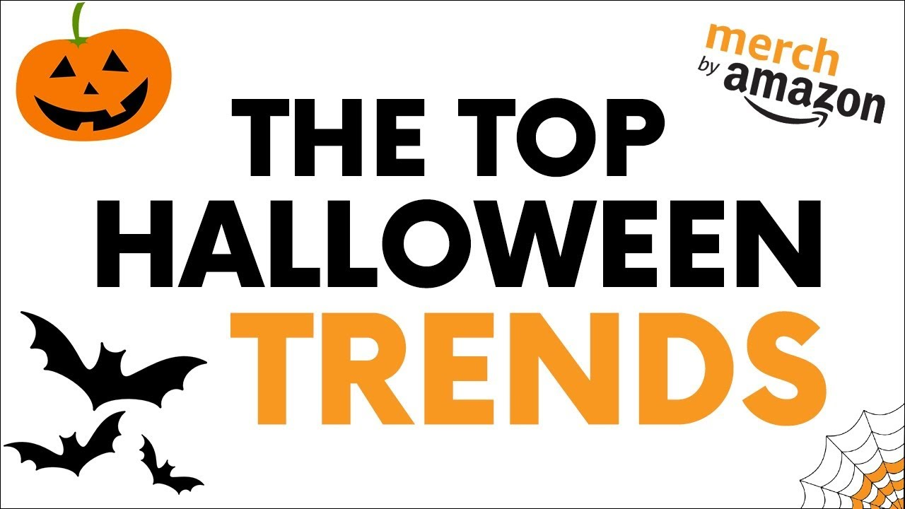 top halloween t shirt trends merch by amazon research