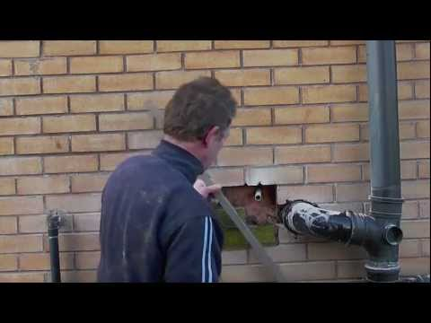 how to cut brick wall with angle grinder