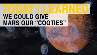 "TIL: We Could Give Mars Our ""Cooties"" 