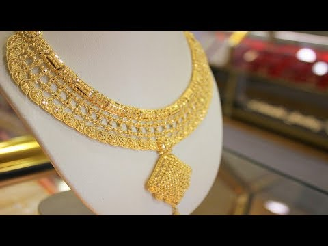 Gold Necklace Designs Pictures