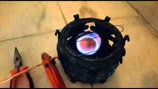 simple gasoline stove (homemade)