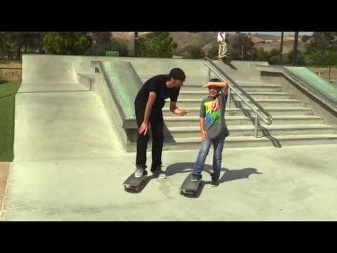 SKATEBOARD LESSONS |  BACKSIDE FLIPS
