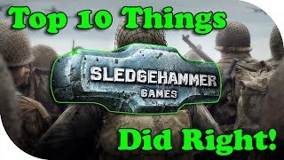 COD WW2 ~ Top 10 Things Sledgehammer Did RIGHT