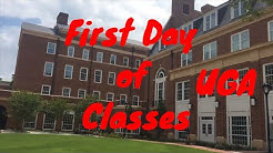 Freshman First Day of Classes at UGA | Christopher Frank