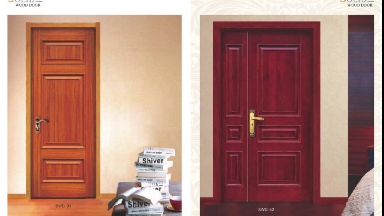 Wood door design catalog of grandshine youtube for Door design catalogue in india