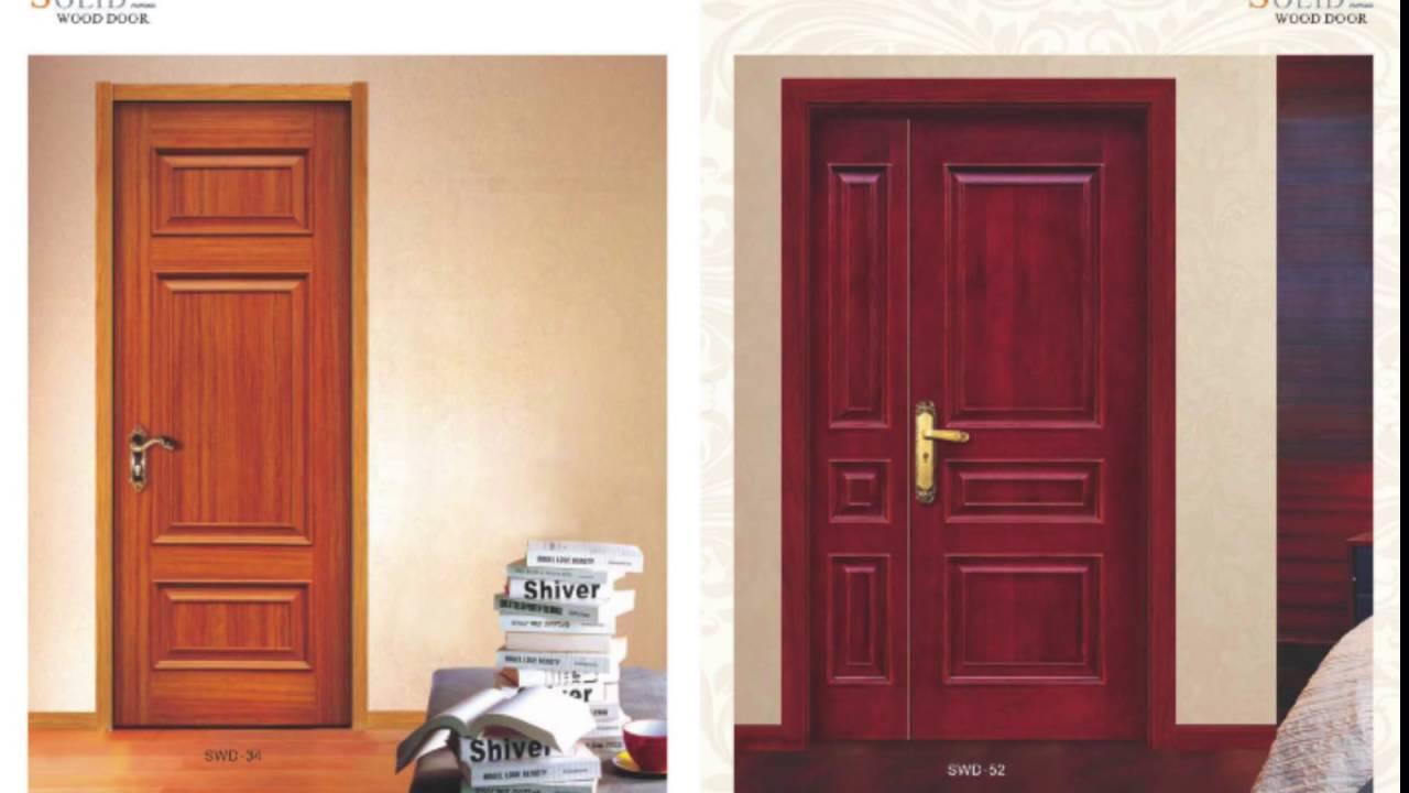 Wood Door Design Catalog of GrandShine - YouTube