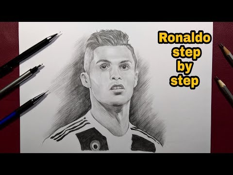 How To Draw Ronaldo Step By Step Easy