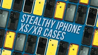 STEALTHY iPhone XS/XR Cases?! - Ghostek Cases for iPhone XS/XR - First Look