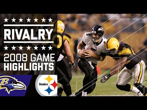 The Rivalry Begins | Ravens vs. Steelers MNF (2008) | NFL