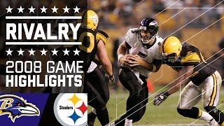 The Rivalry Begins   Ravens vs. Steelers MNF (2008)   NFL