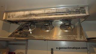 Froid93-Panne-Chambre froide positive-prise en glace de l