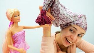 Пижамная вечеринка Барби: шьем колпак своими руками