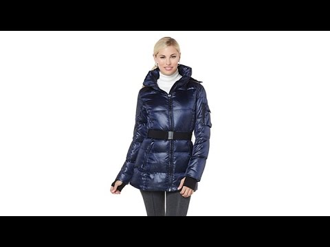 b6d5fa91237 S13 NYC Powder Down Jacket with Hoodie - YouTube