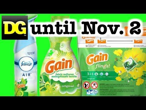 🔥 🔥 Dollar General HOT Gain Deals: Until Nov. 2!