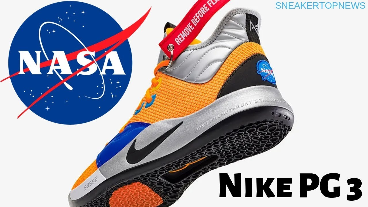 a24a33d0c183 The Nike PG3 NASA Release Date January 26th 2019 - YouTube