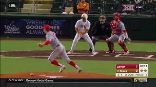 Lamar vs Texas Baseball Highlights - Feb. 21