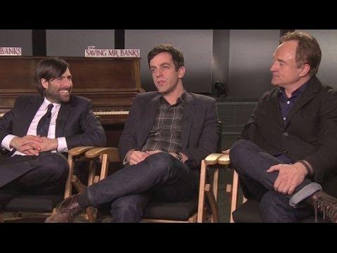 BJ Novak Jason Schwartzman Bradley Whitford Exclusive: The Saving Mr. Banks Interview