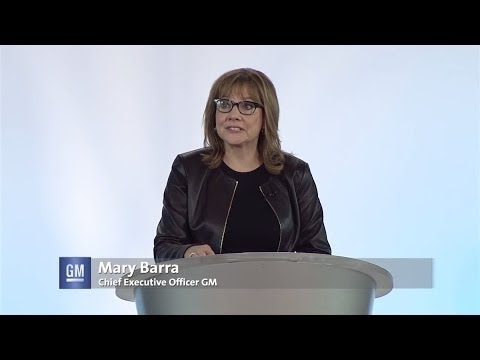 Mary Barra at the GM Vehicle Engineering Center