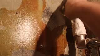 Замена труб на пластиковые в ванной и туалете