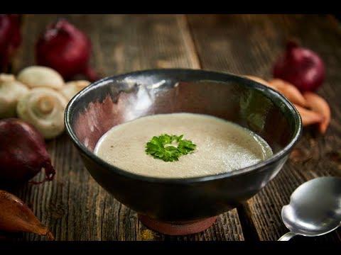 Zupa krem pieczarkowa | Pascal przedstawia