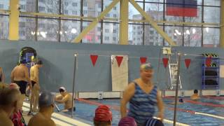 Соревнования пенсионеров по плаванию Великий Новгород