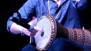 Duet Darbuka Daood Luthfi in Çorum Turkey
