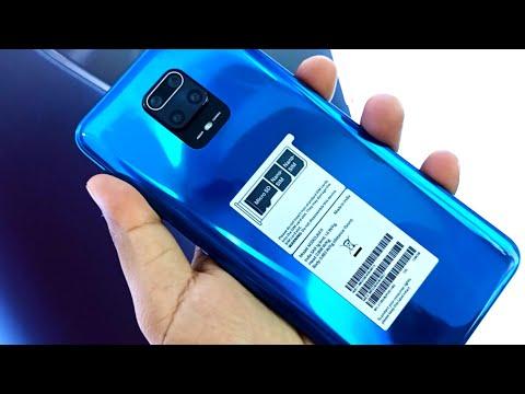 Redmi Note 9 pro Aurora Blue Unboxing & First impression !! Redmi Note 9 pro 6GB/128GB