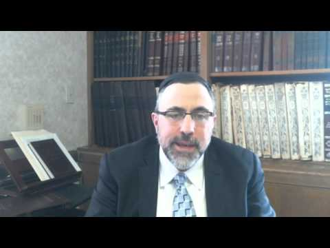 Video Vort - Shemos 5776 - Rabbi Etan Tokayer