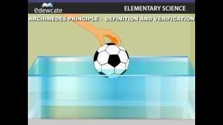 Archimedes Principle Definition and Verification
