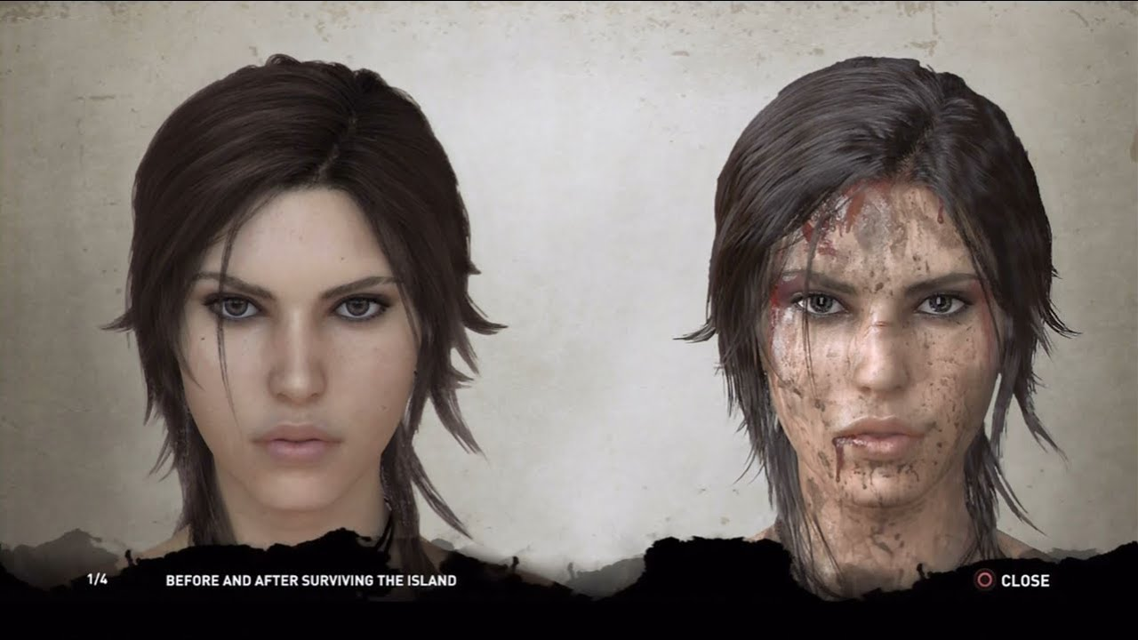 tomb raider 2013 face