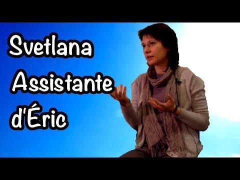 Svetlana assistante CQMI pour Éric - Novembre 2017