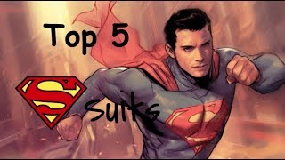 Top 5 Cinematic Superman suits (OF ALL TIME)