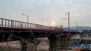 [철도]입석리발 초성리행 화물열차(#5246) 이문철교…