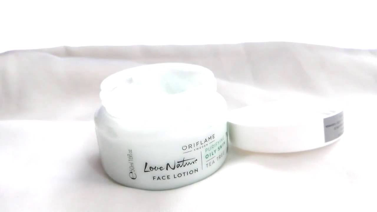 Review Love Nature Face Lotion Tea Tree & Tender Care ...