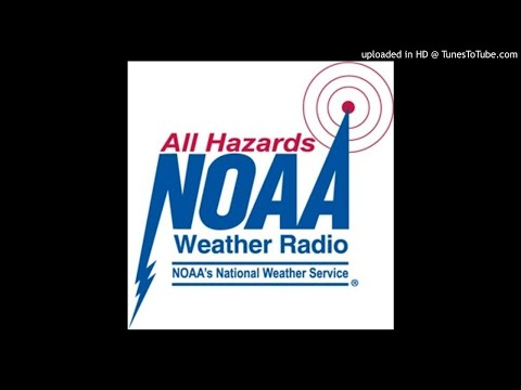 NOAA Weather Radio KEC84 (New Bern) - Two Beach Hazard Statements (09-27-2017)