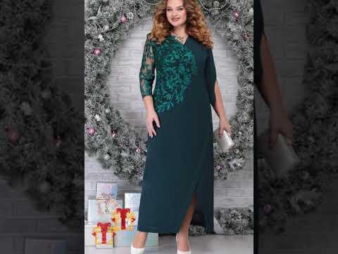 #наряднаяодежда #большойразмер #NINELE5801 Шифоновое нарядное  платье. Новый год 2021 #Shorts