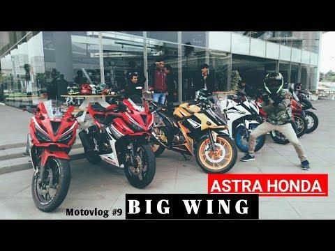 Mampir ke Astra Honda BIG WING | Motovlog #9