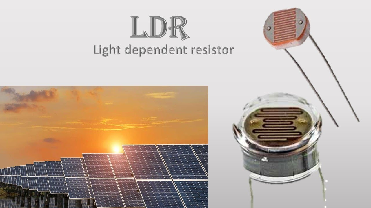 LDR with practical what is light dependent resistor and uses in ...