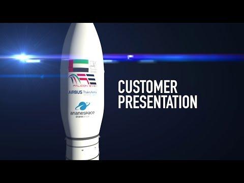 Arianespace TV Customer  - VV15 with FalconEye1