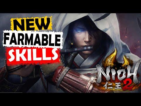 Nioh 2 DLC The Tengu's Disciple | New Farmable Skills | No Spoilers |