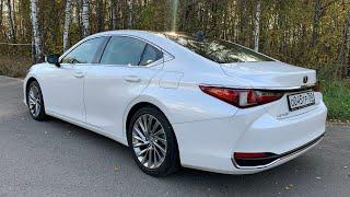 Взял Lexus ES - почему 250, а не V6? Трасса покажет!